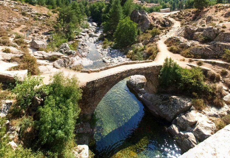 Rafting en Corse : rivière Golo