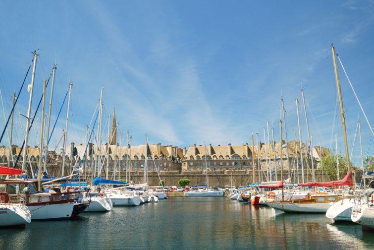 location bateau Saint-Malo