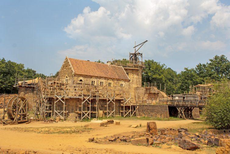 Château de Guédelon - visiter Bourgogne