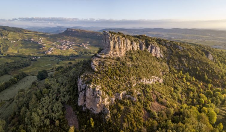 Roche de Solutré - visiter Bourgogne