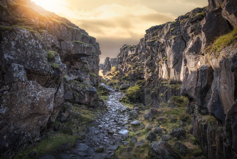 Thingvellir, Islande - Vikings