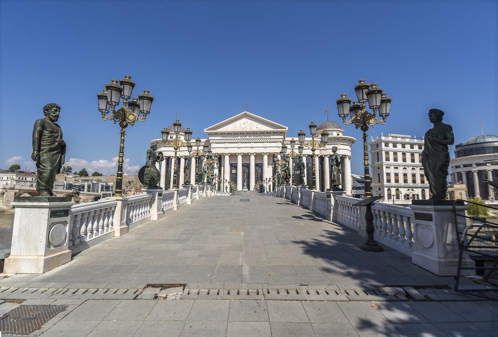 Le Pont des Civilisations, Skopje