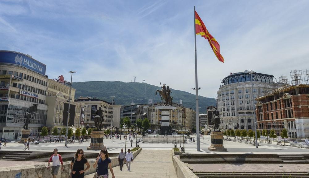 La face négative de Skopje