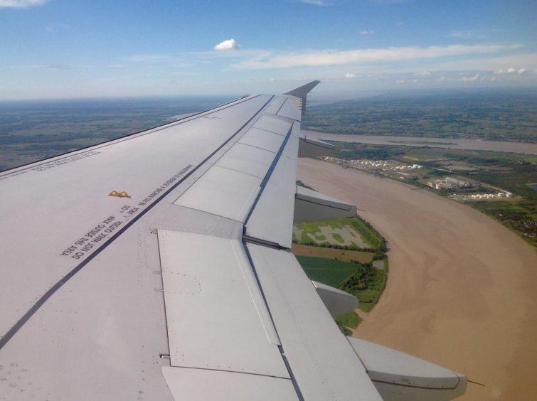 Survol en avion