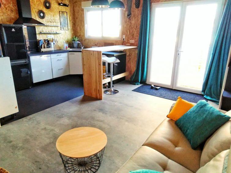 LA VIGIE - chalet en bois -T1 bis 38 m² + terrasse