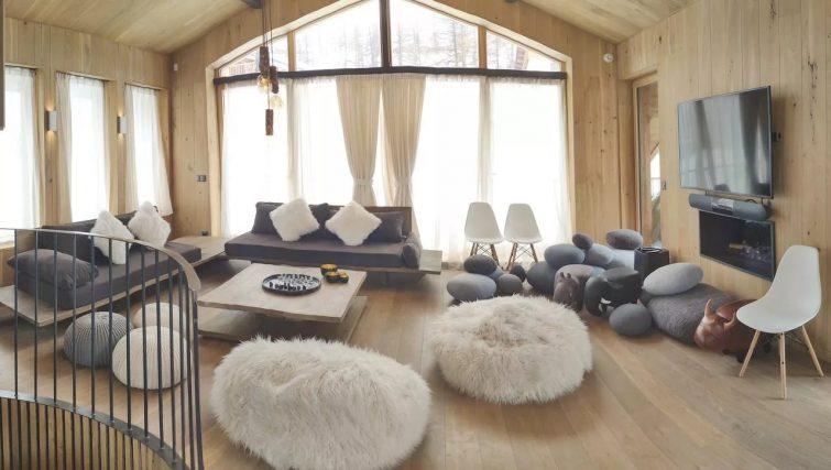 Location Chalet 4* skis aux pieds - hammam + jacuzzi