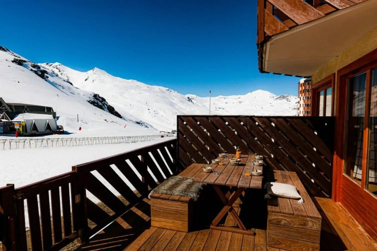 Appartement de luxe 5 flocons OR - 6 pers, 3 ch - airbnb Trois Vallées