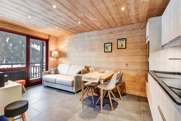 Le Beauregard, vue sur les Aravis - airbnb Grand-Bornand