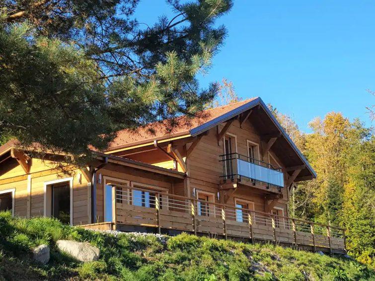 Chalet vue montagne sauna panoramique La Bresse