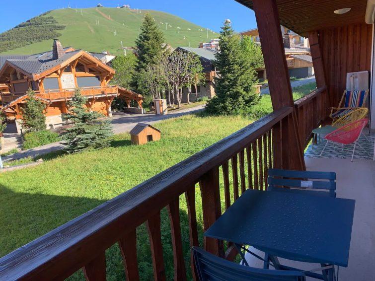 Appartement centre station l'Alpe d'Huez 4-6 pers - airbnb Sybelles