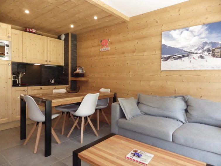 Appartement pour 6 en bordure des pistes 2 alpes