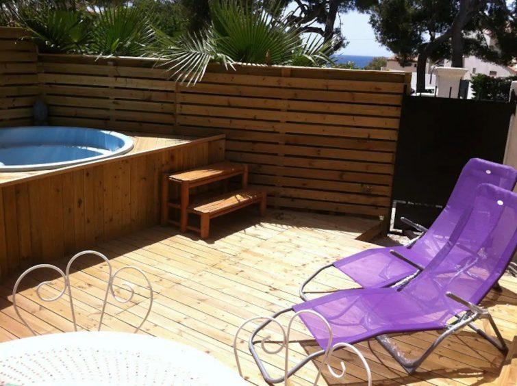 Rdc de villa avec jacuzzi et sauna en bord de mer - airbnb Sausset-les-Pins