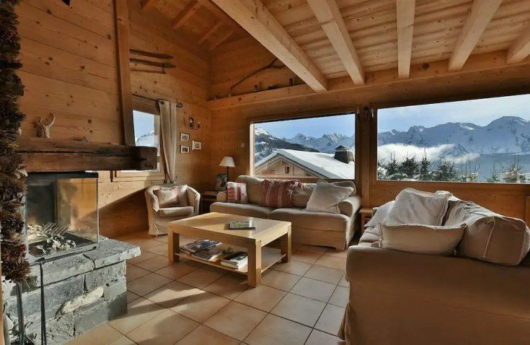 Magnifique chalet indépendant, 10 personnes, 5 chambres, vues imprenables!