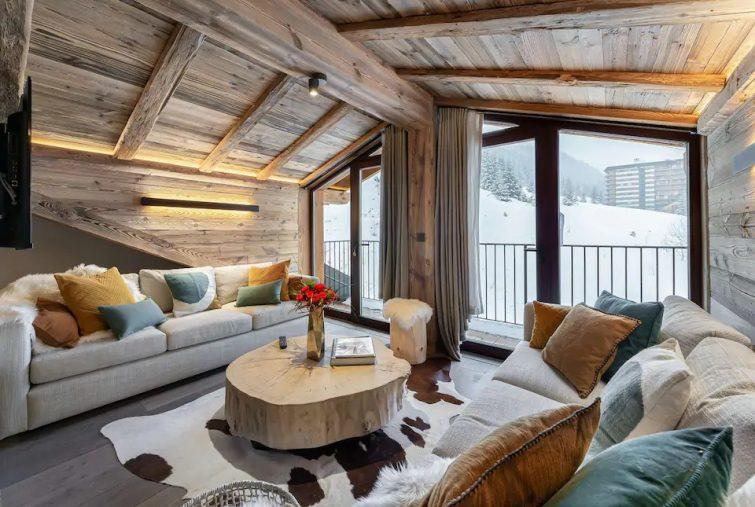 chalet Trois Vallées - Magnifique et spacieux appartement situé en dernier étage
