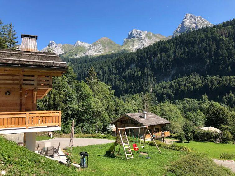 Appartement cosy dans chalet en montagne
