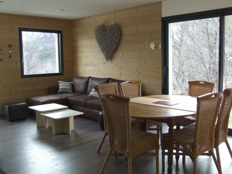 Appart neuf 6 pers. en RDJ le Corbier la Toussuire - airbnb Sybelles
