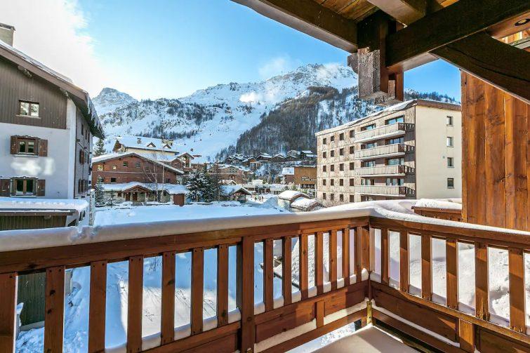 M7 : Appartement spacieux balcon centre station - chalets Val d'Isère