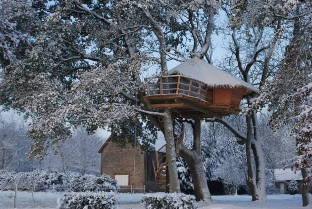Les 10 plus belles cabanes dans les arbres en Normandie