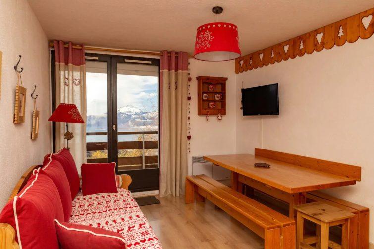 Appart T3 style montagnard Prapoutel LES SEPT LAUX - airbnb 7 Laux