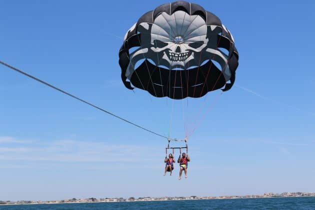 Où faire du parachute ascensionnel à Palavas-les-Flots ?