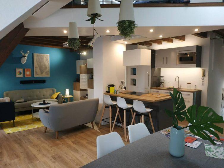 Duplex moderne et confortable
