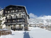 SPO005 Appartement très spacieux pour 4 pers avec très belle vue montagne