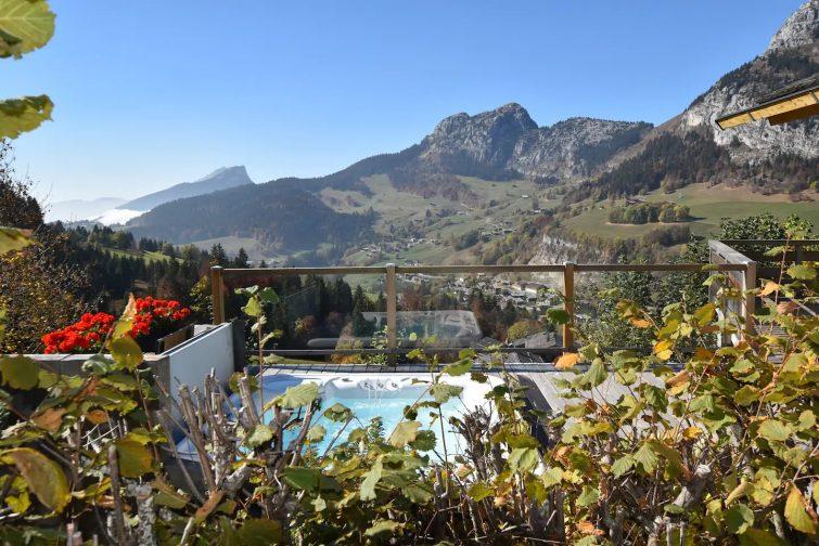 Chalet 5* 11 pers. Ski-in ski-out. Jacuzzi Sauna - airbnb Grand-Bornand