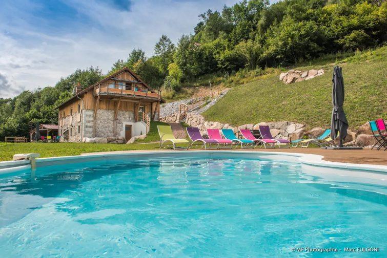 Gîte des Charmes 5* Piscine SPA SAUNA à La Bresse