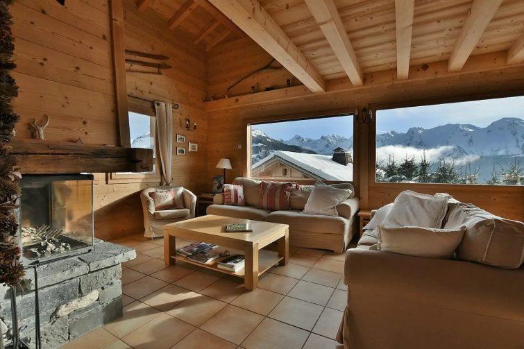 Magnifique chalet indépendant, 10 personnes, 5 chambres, vues imprenables! - airbnb Grand-Bornand