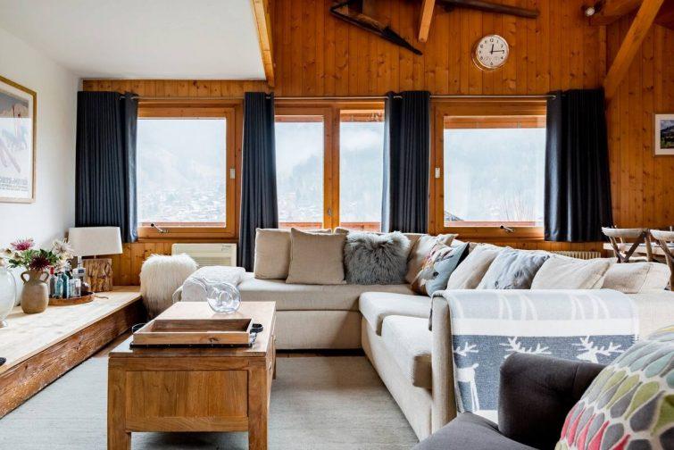 Alpine Splendor from a Luxurious Chalet