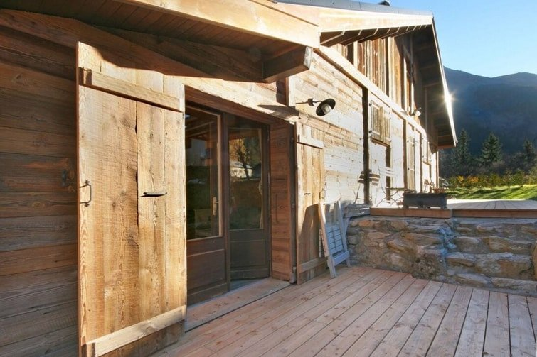 airbnb Contamines-Montjoie - Simple holiday apartment with sunny terrace