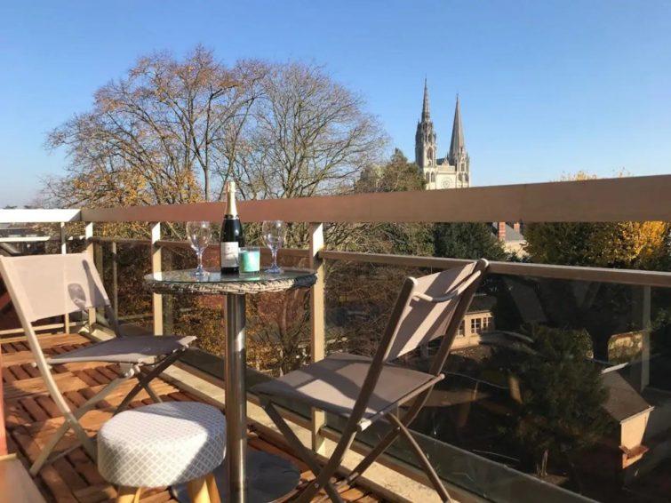Appartement Chartres avec balcon