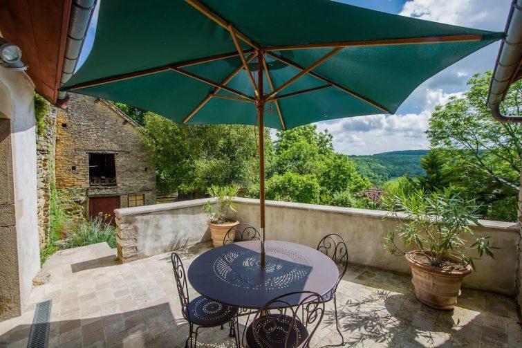 dormir Châteauneuf - Maison de campagne en Bourgogne