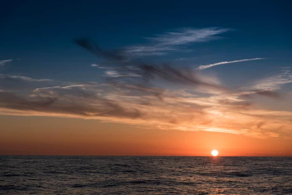 parachute ascensionnel Hyères - Coucher de Soleil Porcquerolles