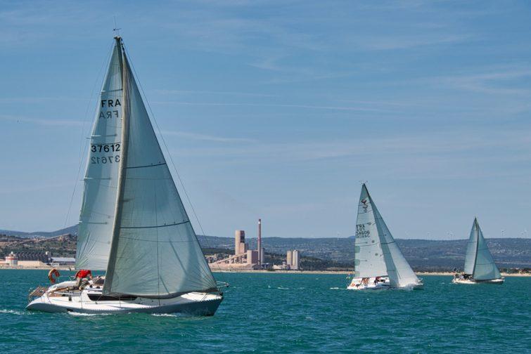 Course de bateaux à Port-la-Nouvelle