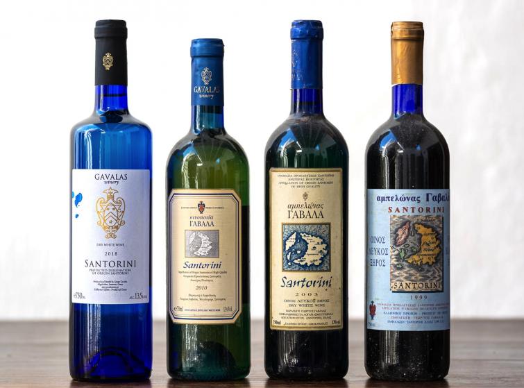Gavalas Winery, Santorin