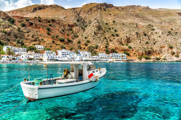 Grèce, Crète, Loutro