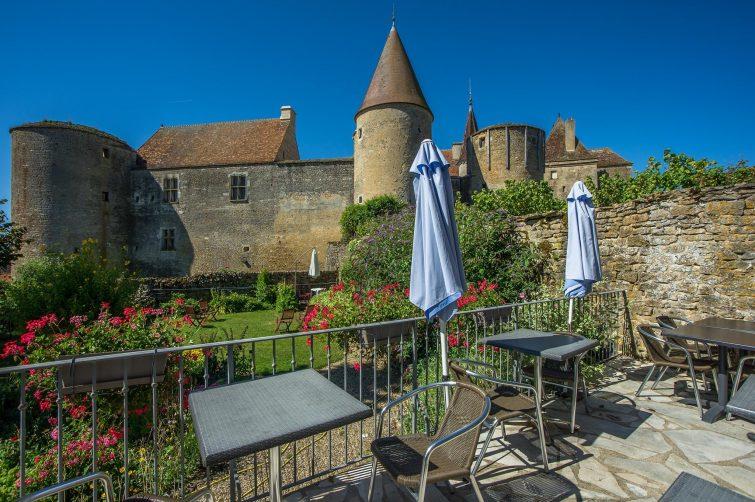 manger Châteauneuf - Hostellerie du Château