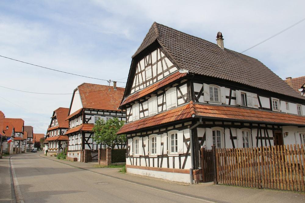Villages d'Alsace : Hunspach