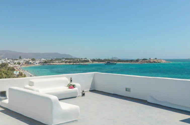 Unique Beachfront Cycladic Villa
