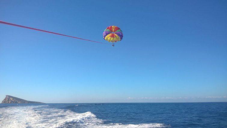 Parachute ascensionnel Alicante