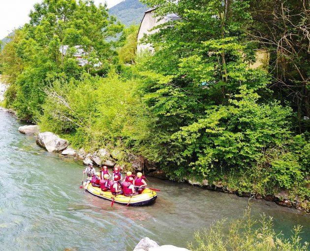 6 endroits où faire du rafting dans les Pyrénées