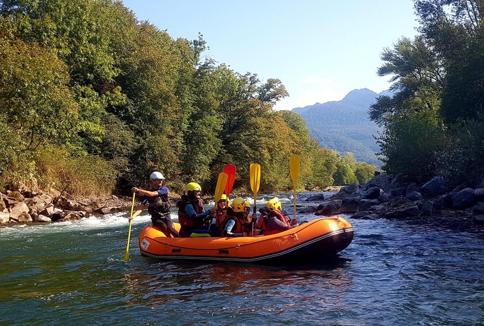 Rafting Garonne
