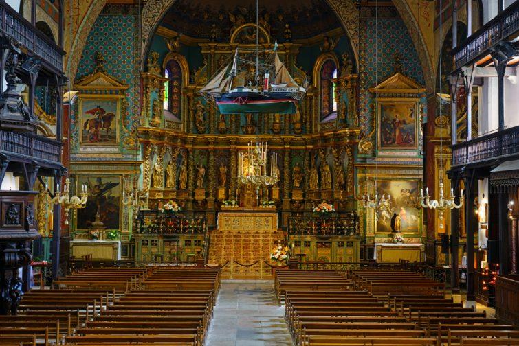 visiter Saint-Jean-de-Luz - Église Saint-Jean-Baptiste de Saint-Jean-de-Luz