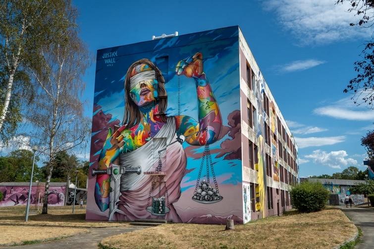 visiter Allier - Street Art City
