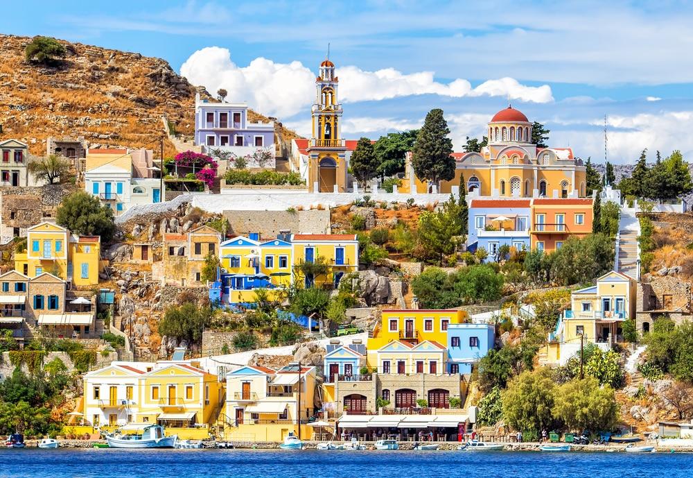Village coloré de Symi, Grèce