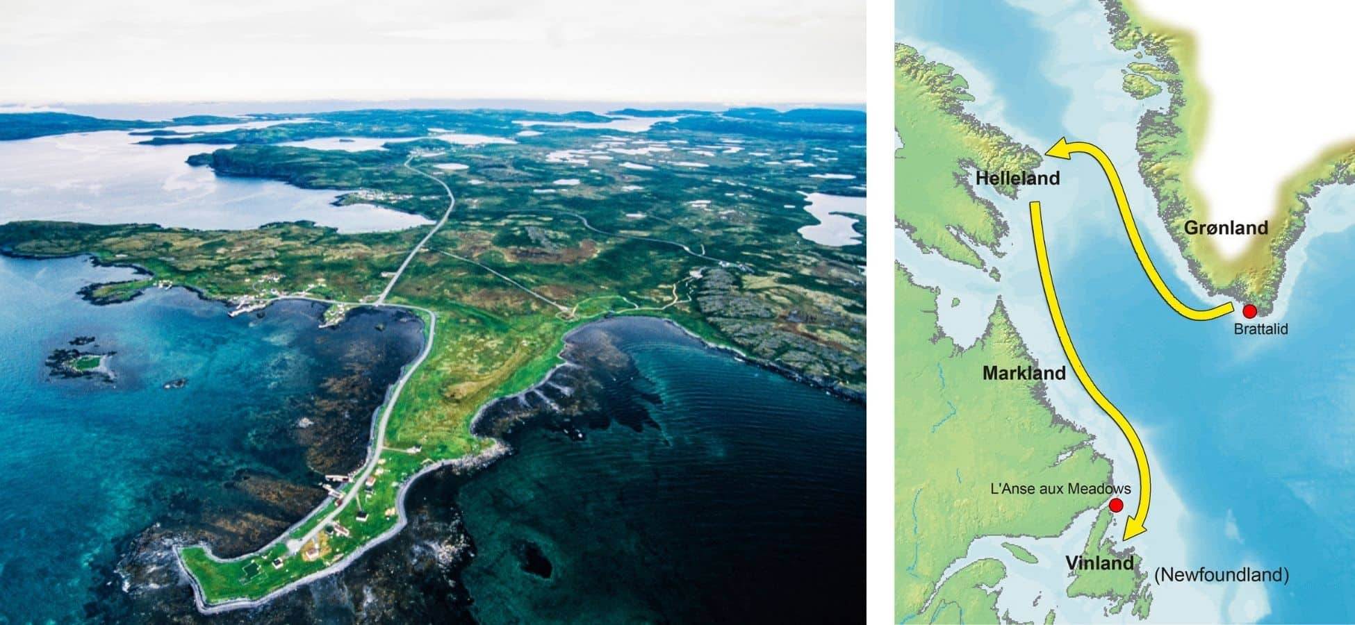 Vikings, Canada