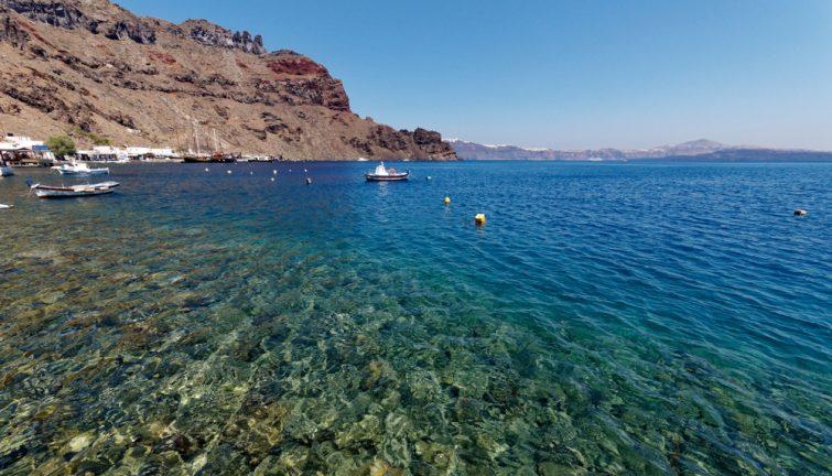 Île de Thirassia, Santorin