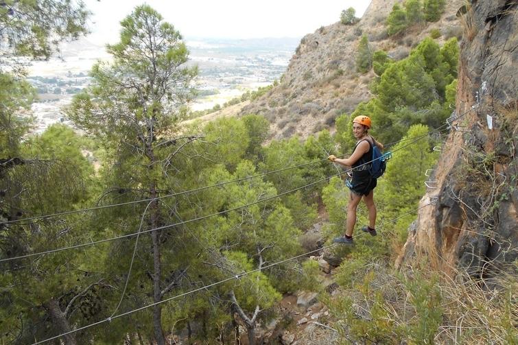 activités outdoor Alicante - Via Ferrata Alicante