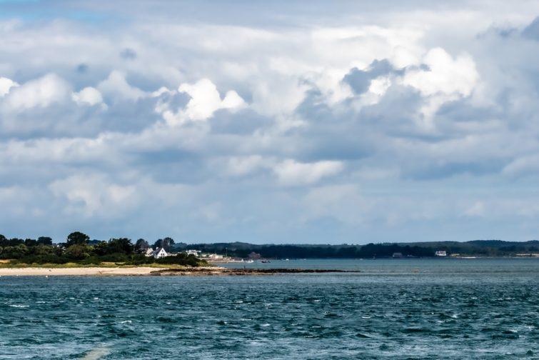 Vue sur le golf du Morbihan